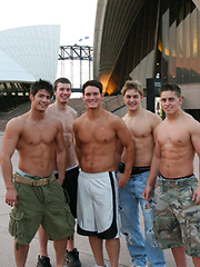 Hot naked jocks posing