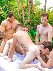 Hot Group Sex Fun with Dallas and Friends