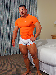 Big butt muscle man exposed