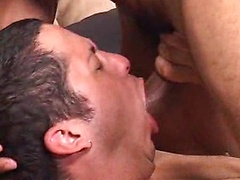 Young pup Orion Cross is proud at how much cock he can take. In contrast, Mike Shawn is proud of how big his huge ...