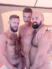 Bone Flexx, Troy Webb and Blake Bradley