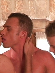 Sascha Basti, Florian Nemec and Nikolaj - hot european jocks threesome