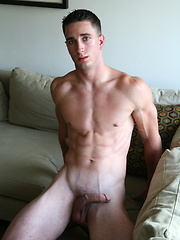 Hot stud Ricky shows his cock and ripped body